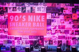 Nike x Footlocker bedrijfsevenement fotowand