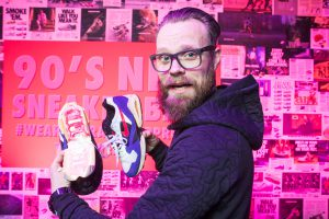 Photowall bij Nike x Footlocker event