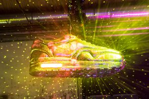 Nike Air Max disco shoe eventregistratie