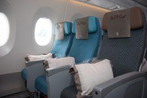 Economy Class Airbus A350 - interior